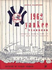 Vintage New York Yankees Yearbook 1962 World Champions