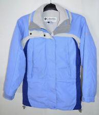 Columbia Interchange Coat Ski Jacket Blue/Gray Women's Small
