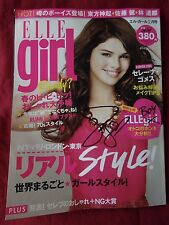 Selena Gomez Signed Japan Elle Girl Magazine In Person Autograph