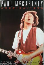 "Paul McCartney ""America'90 Tour-Blumen im Dreck"" US Promo Giant Poster"