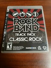 Rock Band Track Pack: Classic Rock PS3 Ps3 COMPLETE FREE SHIPPING