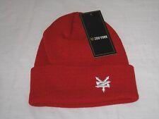 3f505e09652 BNWT - ZOO YORK Cuff Beanie Hat Red