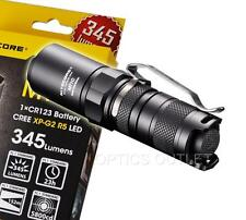 NiteCore MT1C 345 Lumens Cree LED Flashlight - Use 1xCR123A - Brighter than PD22