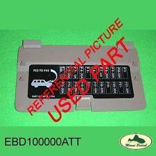 LAND ROVER  FUSE COVER WALNUT RANGE P38 99-02 EBD100000AAT USED