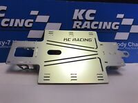 1/24 Slot Car KC Racing Lucky-7 Hardbody Assembled Chassis - Nickel Plated