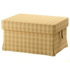 New Ikea EKTORP Footstool / Ottoman Slipcover Cover SKAFTARP YELLOW