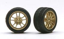 Pegasus 1283 x 1/24-1/25 Bronze M5's Rims w/Tires (4)