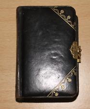 Gebetsbuch Andachtsbuch Allzeit im Herrn um 1890 nette Buchschließe Jugendstil