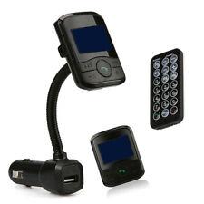 Coche MP3 Reproductor Bluetooth Transmisor Fm USB Cargador Rápido Con Remoto
