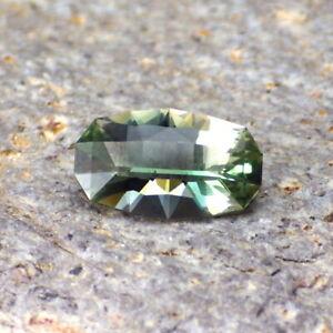 Neón Azul-Verde Dicróica Oregon Sunstone 1.59Ct Flawless-Very Raro Color-Invest