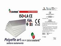 40 PANNELLI POLISTIROLO ISOLAMENTO TERMICO DENSITA' 15 KG MC 100 x 50 x 1 CM