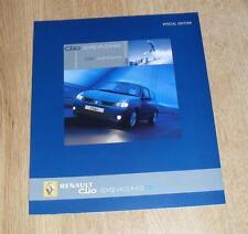RENAULT CLIO EXTREME édition spéciale brochure 2004-Clio 1.2 1.4 1.6 & 1.5 DCI