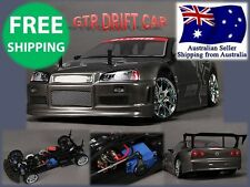Mission-D 4WD GTR Drift Car 1/10 RC Car Motor ESC  Almost Ready to Run ARR Hobby