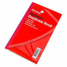 1 x Silvine Delivery Duplicate Book Numbered 1-100 Receipt Notebook Memo Pad