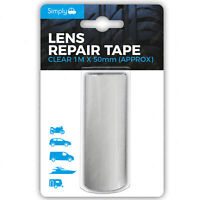 Simply Car Lense Repair Kit Clear Tape Headlight Headlight Reverse Light Restore
