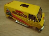 1 Tamiya Vanessas Lunch Box RC Truck RTR Yellow Body Set FACTORY FINISHED & NEW!