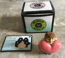 "Harmony Pot Bellys ""The Bachelor� Miniature Figurine in Original Box 2003"