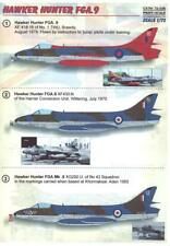 Print Scale Decals 1/72 HAWKER HUNTER FGA.9 British Jet Fighter