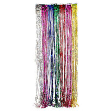 Foil Party Door Curtain Tinsel Shimmer Birthday Wedding Decorations Supplies Lot