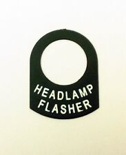 HEADLAMP FLASHER Land Rover Classic RACE RALLY OFF ROAD lucas switch tag