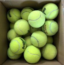 40 Good Used Tennis Balls, incl. Penn, Wilson, Dunlop. Free Shipping