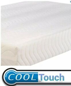 6 FT Super King Size Cool Touch Luxury Orthopaedic Memory Foam Mattress Sale New