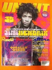 rivista UNCUT 60/2002 +CD Boards Of Canada Jimi Hendrix Bryan ferry Cornershop