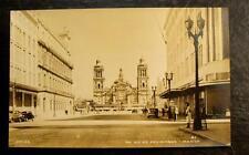 1930 REAL PHOTO POSTCARD- AV. 20 DE NOVIEMBRE MEXICO