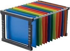 Plastic Hanging File Folder Frame 18 Inch Letter And Legal Size Adjustable 1set