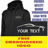 Personalised Embroidered  Hoodie AUTO SERVICE workwear UNIFORM LOGO
