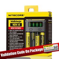 Nitecore 2018 i4 Universal Vape Battery Charger 20700 26650 22650 RCR123 Battery