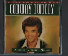 TIME LIFE LEGENDARY COUNTRY SINGERS CONWAY TWITTY CD - SEALED - FREE SHIPPING