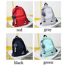2018 Backpack Girl School Bags For Teenage College Women High Student Bag Nylon