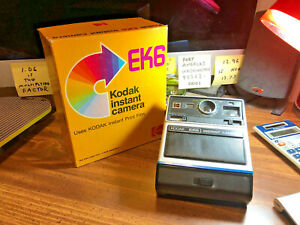 Vintage Kodak EK 6 Instant Camera w/Original Box