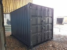 12 x 8 Ft very secure storage with two lock boxes and anti condensation paint.
