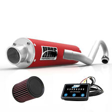 HMF Performance Full System Exhaust Red EFI Optimizer K&N Can Am Outlander 650
