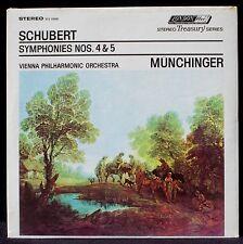 SEALED Schubert Münchinger Vienne Symphonies 4 & 5 London FFRR STS 15095