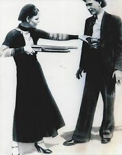 BONNIE & CLYDE 8X10 PHOTO BANK ROBBERS CRIME PICTURE BARROW B/W