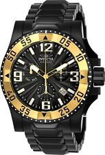Men's Invicta 23906 Excursion Swiss Chronograph Black Dial Stainless Steel Watch