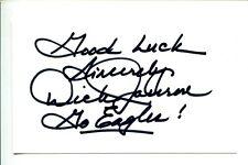 Dick Jauron Chicago Bears Detroit Lions Philadelphia Eagles Signed Autograph