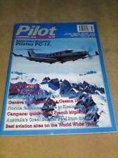 PILOT MAGAZINE - PILATUS PC-12 Feb 1996 Vol 30 No 2