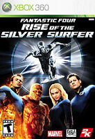 Fantastic 4 Four Rise Of The Silver Surfer Xbox 360 Disc ONLY in Generic Case