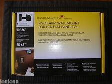 """Peerless Industries Paramount Pivoting Wall Mount For 10"""" To 26"""" Lcd Tv - Black"""