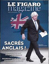 LE FIGARO MAGAZINE N°22361 01/07/2016 SACRES ANGLAIS/ BREXIT/ STREEP/ MCCULLIN