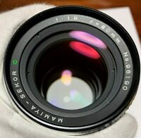 Tested [N MINT] Mamiya Sekor C 80mm f/1.9 MF Lens 645 1000S Pro TL from JAPAN