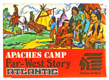 1/72nd Scale Atlantic HO Far-West Story Apache Camp # 1106 - mint in box