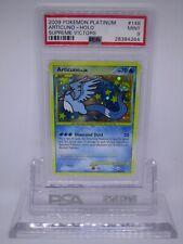 PSA 9 MINT Articuno Platinum: Supreme Victors Secret Pokemon Card 148/147    M36