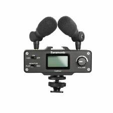 Saramonic CaMixer On-Camera Audio Adapter & Mixer with Dual Microphones & XLR fo