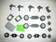 Lego Light Dark Blue Gray Car Parts 52031 Hood 30285 52038 47755 6014 Wheel Tire