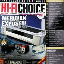 HI-FI CHOICE AYRE MARANTZ 7001 CD/ SACD DYNAUDIO FOCUS 220 MORDAUNT SHORT 906i